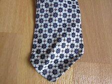 Original Vintage Small FLOWERS Pattern Tie