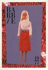 """Barbie Collectible Fashion Trading Card """" Get-Ups 'N Go """" 1977"""