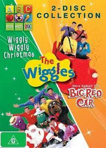 The Wiggles - Wiggly, Wiggly Christmas / Here Comes The Big Red Car (DVD) Reg 4
