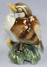 vogel hutschenreuther  Vogelfigur porzellan figur  netzsch 1969 spatz