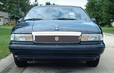 91-96 Chevy Caprice chrome mesh grille grill dual weave bentley mesh 1pc