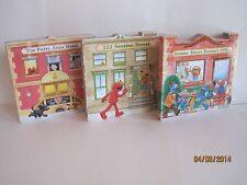 Sesame Street Board Books, Lot of 3 Books