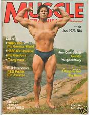 Muscle Training Dan Lurie Bodybuilding Magazine Reg Park /Bill Grant poster 1-73