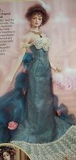 NIB Franklin Mint Doll Josephine Gibson Girl Spring Ball Vienna NRFB NEW