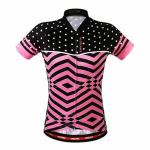 Women Short Sleeved Cycling Jersey and Shorts Sets Riding Teamwear Shirts Pants