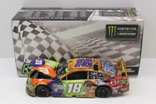 RARE * BRAND NEW 2017 * #18 KYLE BUSCH * HALLOWEEN MARTINSVILLE RACED WIN