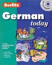 German with Book (Berlitz Today)  Audio CD