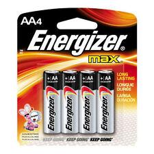 Piles jetables Energizer pour équipement audio et vidéo AA