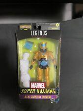 "Marvel Legends 6"" BAF Xemnu Super Villains NIP 2021 New - AIM SCIENTIST SUPREME"