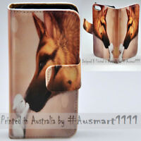 For Nokia Series - Dog Kiss Print Wallet Mobile Phone Case Cover
