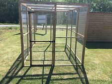 Animal Dog Enclosure Run With Roof 6ft X 9ft Puppy Chicken Ducks Pet Pen
