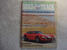 Road & Track 1974 November Mercury Capri Porsche 914 Ferrari Fiat 124 BMW 525