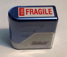 Frágil deskmate Auto-entintado Pre-Inked Red Rubber Stamp-KE-F01A
