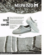 PUBLICITE ADVERTISING 065  1995  MEPHISTO M    chaussures homme