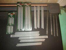 LOT OF N SCALE GAUGE KATO UNITRACK MODEL TRAIN TRACK 20-040 20-000 SOME SEALED