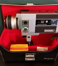 Argus/Cosina Model 708 Film Camera. As is untested - with case and super 8 film