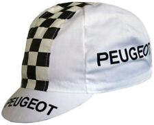 Gorra de ciclismo en blanco