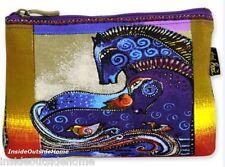 Laurel Burch Organizer Bag Aquatic Mares Horses Makeup Art Craft Pencil Medical