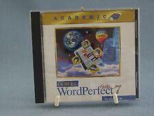 Corel Word Perfect Suite 7 Academic Edition Windows 95