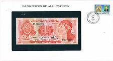 Franklins billets de toutes les nations honduras 1 P68a 1980 unc