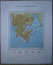 1891 Perron map GUAYMAS, SONORA, MEXICO (#33)