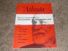 THE ATLANTIC MAGAZINE / JULY 1961 PSYCHIATRY IN AMERICAN LIFE ART MORALS WRITING