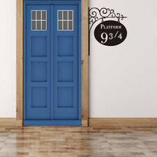 Harry Potter 9 3/4 Platform Vinyl Sticker Art Wall Decals Home Room Door Decor