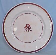 Tea Leaf Ironstone Plate Copper Luster Elsmore Forster 9in. Oxidation Antique #2