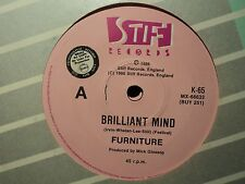 "Furniture ""Brilliant Mind""  Rare Oz PROMO 7"""