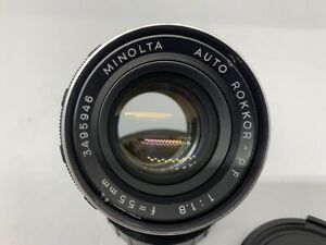 Minolta Auto Rokkor-PF 55mm F1.8
