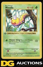 1999 Pokemon 1st Edition Shadowless Weedle #69/102 Base Set