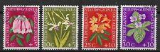 Ned. Nieuw Guinea  Sociale Zorg Bloemen NVPH 57-60