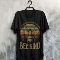 Women Casual T Shirts Short Sleeve Blouse Graphic Tees Lady's Bee Printed Tops