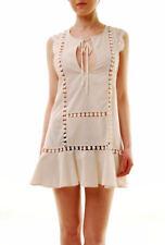 For Love & Lemons Women's  Emmy Nightie/Cover Up Dress PinStripe S RRP£194 BCF71