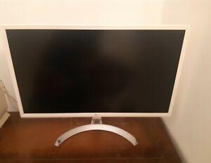 LG 27 Monitor Led 4k UHd Bianco 27UD59-W