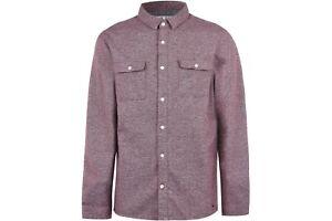 Jack Wills Mens Barberry Jaspe 2 Pocket Shirt Short Sleeve