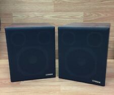 """Pair of Vintage Fisher System Speakers 8 5/8"""" x 10 1/4"""" x 9 7/8"""""""