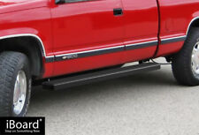 "Side Steps Nerf Bars 5"" Black Fit 88-98 Chevy/GMC C/K Pickup 2Dr Extended Cab"