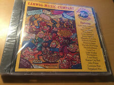 Earwig 16th Anniversary Sampler by Various Artists cd Sealed