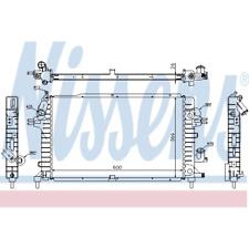 Kühler Motorkühlung - Nissens 63029A