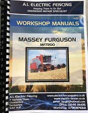 Cd massey ferguson tractor manuals publications ebay mf massey ferguson combine workshop manuals 7200 seriesfree postage fandeluxe Gallery