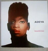 "Adeva ‎– Beautiful Love Vinyl 7"" Single"