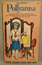 1960 POLLYANNA - DISNEY HAYLEY MILLS - FUNTIME Paper Doll Book - UNCUT ORIGINAL