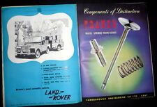 British Truck Industry Review, Commercial Vehicle Industry,  1951 Edition, DJ