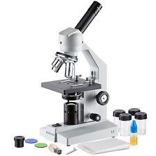 AmScope M500C 40x-2500x Advanced Home School Compound Microscope