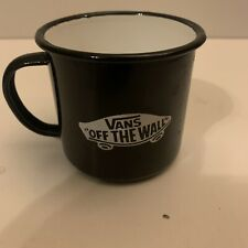 Vans Off The Wall Black Tin Cup