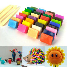 32 Blocks Polymer Clay Set Colorful DIY Toy Soft Craft Oven Bake Modelling Tools