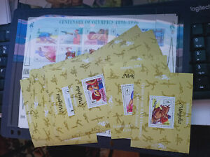 20 Mongolia 1996 Olympic Games Atlanta Mini Sheets MNH 18 Small 2 Large 1 Imperf