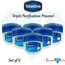 6 x Original Pure Vaseline Petroleum Jelly All Over & For All Skin Types 250ml