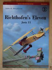 Richthofen's Eleven: Jasta 11 (Legends of Aviation 3)